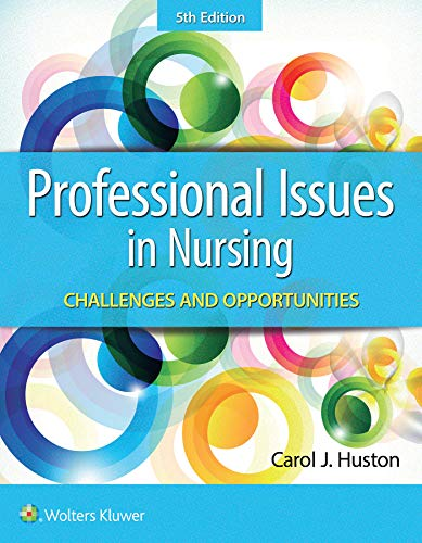 Professional Issues in Nursing:   2019 9781496398185 Front Cover