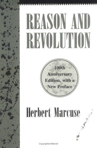 Reason and Revolution  10th 1999 (Anniversary) edition cover