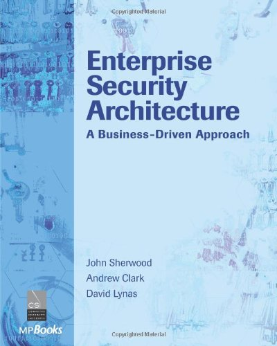 Enterprise Security Architecture A Business-Driven Approach  2005 edition cover