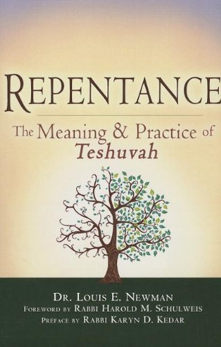 Repentance The Meaning and Practice of Teshuvah  2013 edition cover