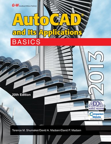 AutoCAD and Its Applications Basics 2013 20th 2013 edition cover