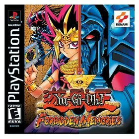Yu-Gi-Oh! Forbidden Memories PlayStation artwork