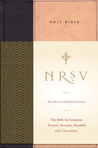 NRSV Standard Bible   2007 edition cover