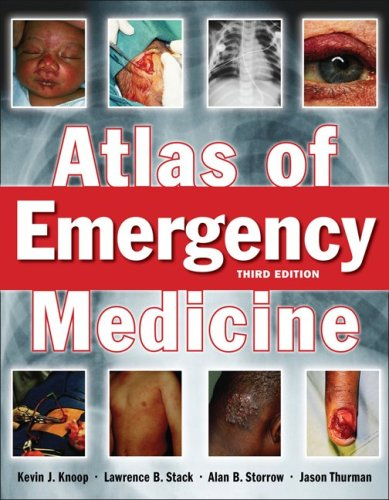 Atlas of Emergency Medicine  3rd 2010 edition cover