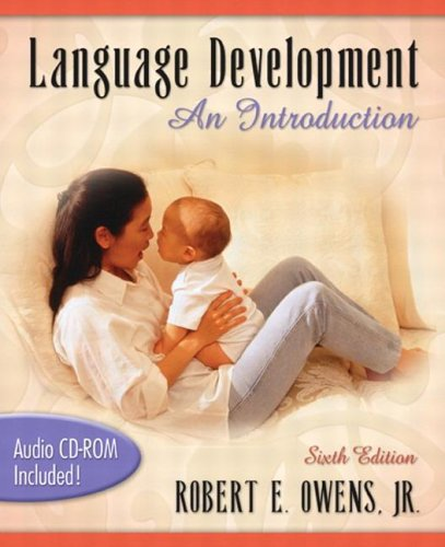 Language Development An Introduction 6th 2005 (Revised) edition cover