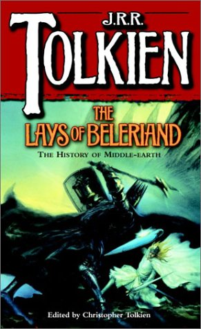Lays of Beleriand  Reprint edition cover