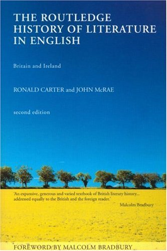 Routledge History of Literature in English Britain and Ireland 2nd 2001 (Revised) edition cover