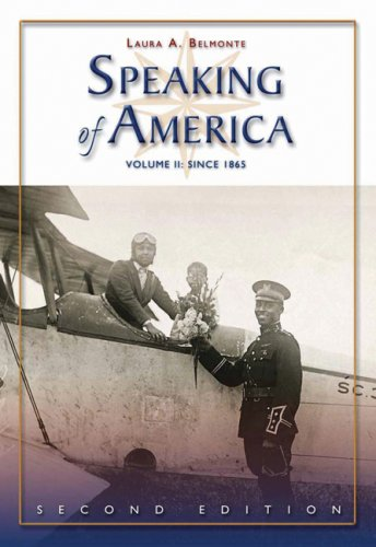 Speaking of America since 1865  2nd 2007 (Revised) edition cover
