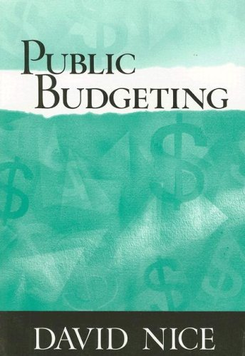 Public Budgeting   2002 edition cover