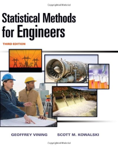 Statistical Methods for Engineers  3rd 2011 edition cover