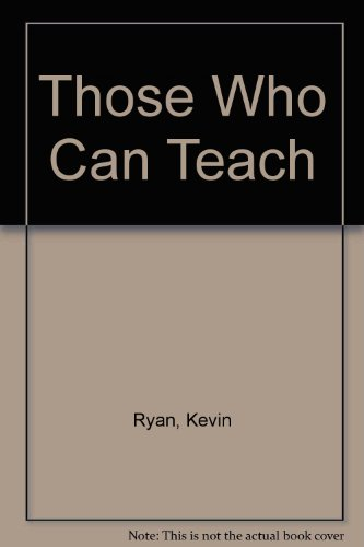 Those Who Can Teach 11th Edition Plus Kaliedoscope 11th Edition 1st 2007 9780618800186 Front Cover