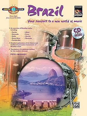 Drum Atlas Brazil Your passport to a new world of music, Book and CD  2009 edition cover