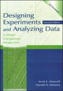 Designing Experiments and Analyzing Data A Model Comparison Perspective 2nd 2003 (Revised) edition cover