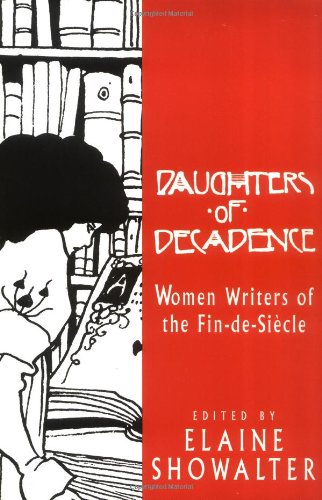 Daughters of Decadence Women Writers of the Fin-de-Siecle  1993 edition cover
