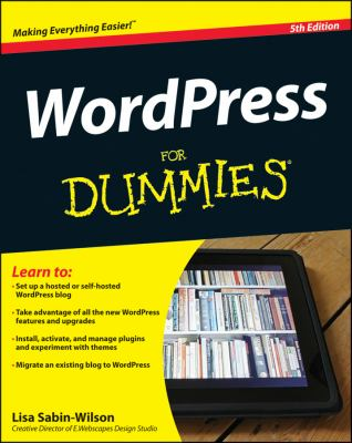 WordPress for Dummies�  5th 2013 edition cover