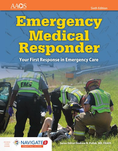 Emergency Medical Responder + Essentials Access:   2016 9781284134186 Front Cover