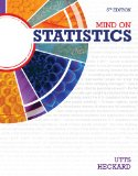 Mind on Statistics:   2014 9781285463186 Front Cover