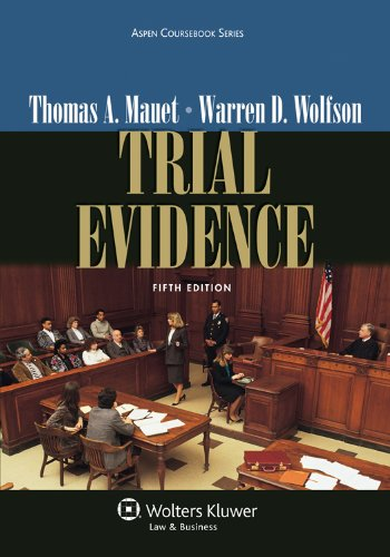 Trial Evidence  5th 2012 (Revised) edition cover