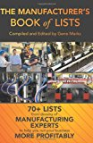 Manufacturer's Book of Lists  N/A 9781492779186 Front Cover