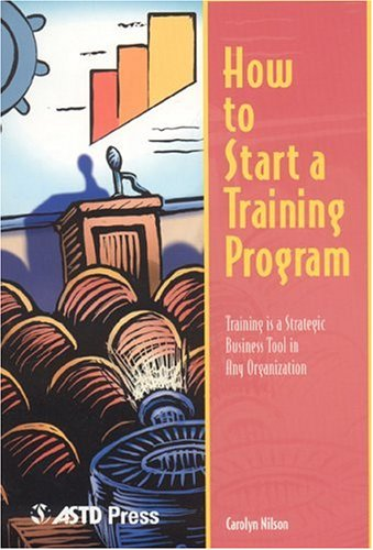 How to Start a Training Program   1999 edition cover