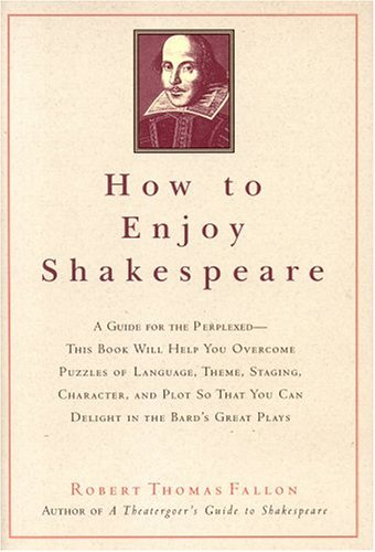 How to Enjoy Shakespeare   2005 edition cover