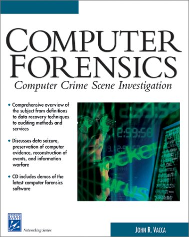 Computer Crime Scene Forensics   2001 edition cover