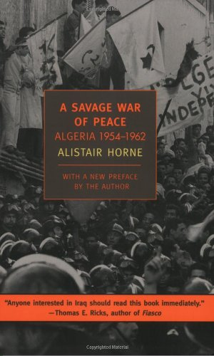 Savage War of Peace Algeria, 1954-1962  2006 edition cover