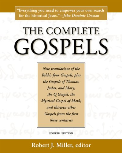 Complete Gospels  4th 2010 edition cover