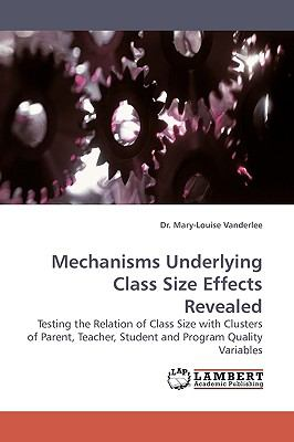 Mechanisms Underlying Class Size Effects Revealed N/A 9783838306186 Front Cover