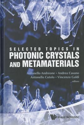 Selected Topics in Photonic Crystals and Metamaterials:  2011 edition cover