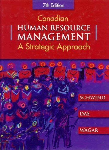 strategic human resources planning by monica belcourt