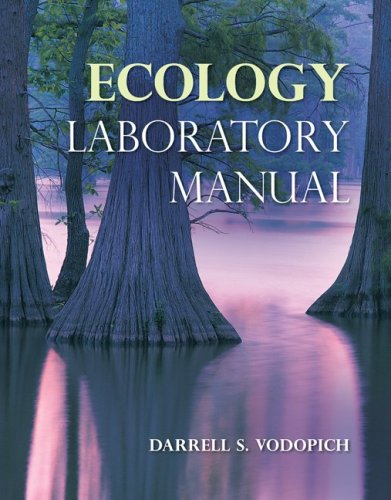 Ecology Lab Manual   2010 edition cover