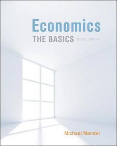 Economics The Basics 2nd 2012 edition cover