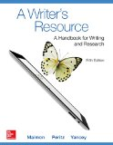 Writer's Resource (Comb-Version) Student Edition  5th 2015 edition cover