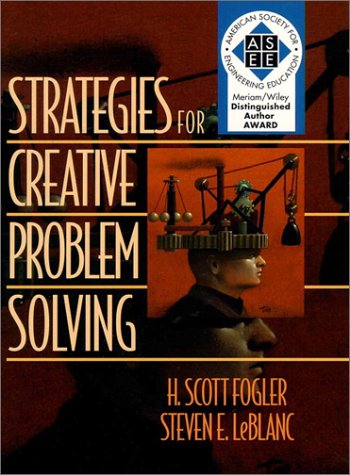 Strategies for Creative Problem-Solving   1995 9780131793187 Front Cover