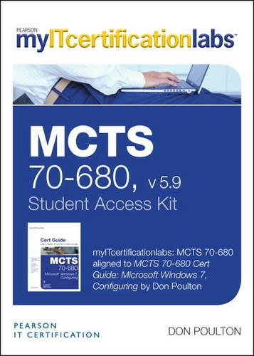 MCTS 70-680 CERT GUIDE-ACCESS           N/A 9780133393187 Front Cover