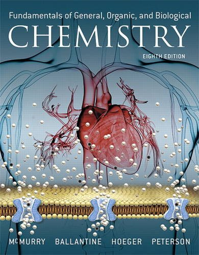 Fundamentals of General, Organic, and Biological Chemistry:   2016 9780134015187 Front Cover