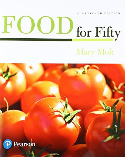 Food for Fifty:   2017 9780134437187 Front Cover