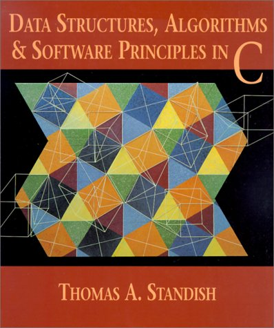 Data Structures, Algorithms and Software Principles in C   1995 edition cover