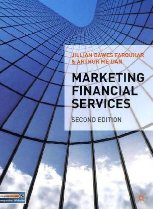 Marketing Financial Services  2nd 2010 (Revised) 9780230201187 Front Cover