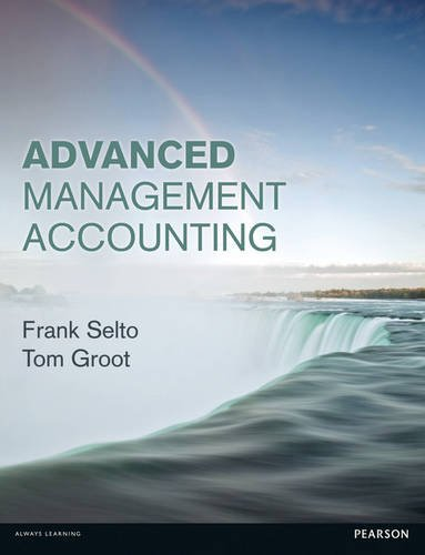 Advanced Management Accounting   2013 (Revised) 9780273730187 Front Cover