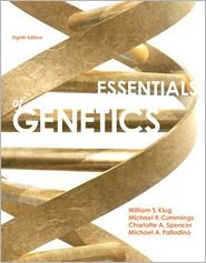 Essentials of Genetics, Books a la Carte Edition  8th 2013 edition cover