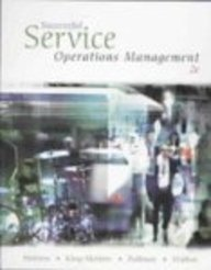 Successful Service Operations Management  2nd 2006 edition cover