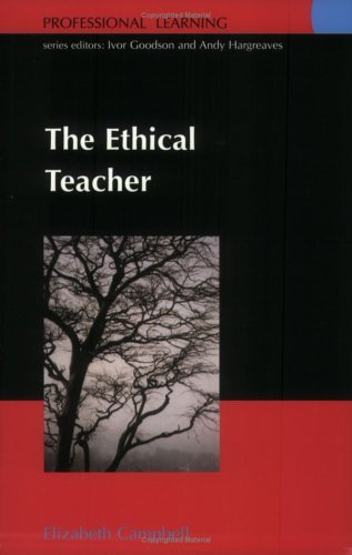 Ethical Teacher   2003 (Annotated) 9780335212187 Front Cover