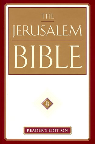 Jerusalem Bible Reader's Edition N/A edition cover