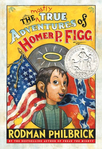 Mostly True Adventures of Homer P. Figg   2009 edition cover