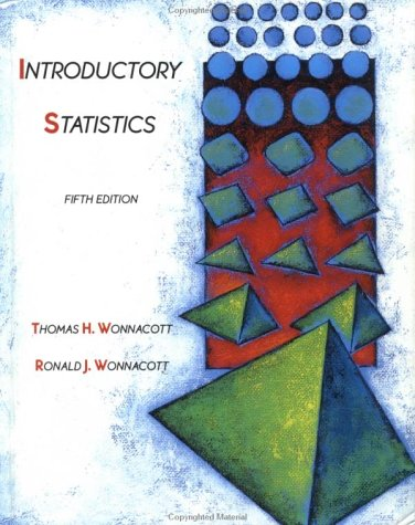 Introductory Statistics  5th 1990 (Revised) edition cover