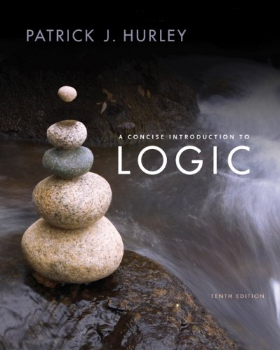 Concise Introduction to Logic  10th 2008 edition cover