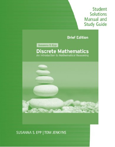 Discrete Mathematics Introduction to Mathematical Reasoning  2011 edition cover