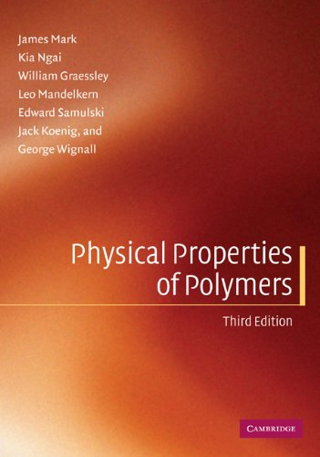 Physical Properties of Polymers  3rd 2003 (Revised) edition cover